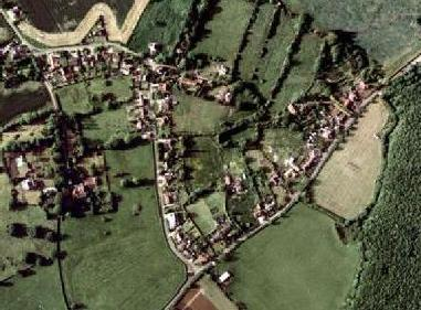 Overhead photo of Claxby